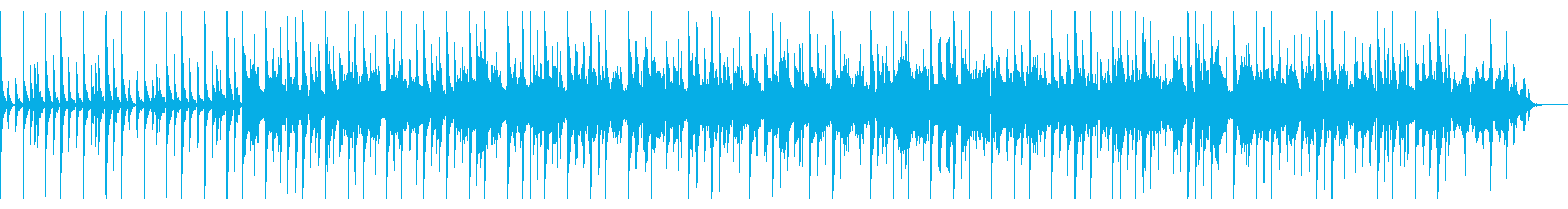 KANTアフリカンテイストBGM2017の再生済みの波形