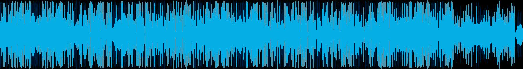 8bitレトロゲーム・ポップな和風ループの再生済みの波形