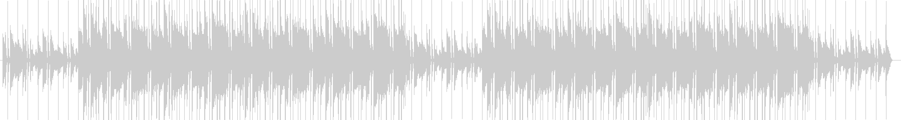 Break Pianoの未再生の波形