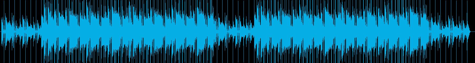 Break Pianoの再生済みの波形