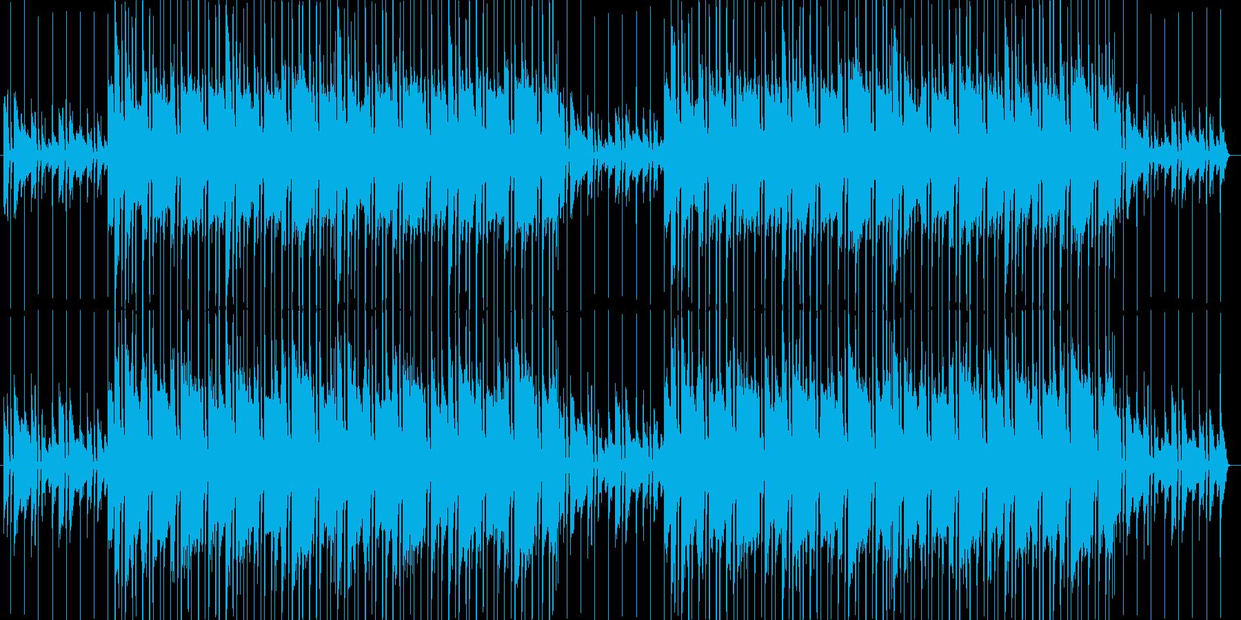 爽やか、シンプル、ピアノ、ポップBGMの再生済みの波形