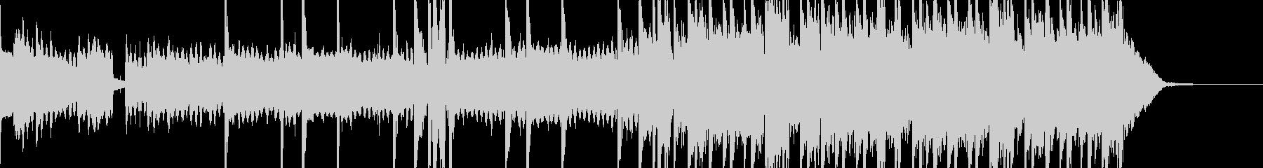 レトロ ギャングラップ ポジティブ...の未再生の波形