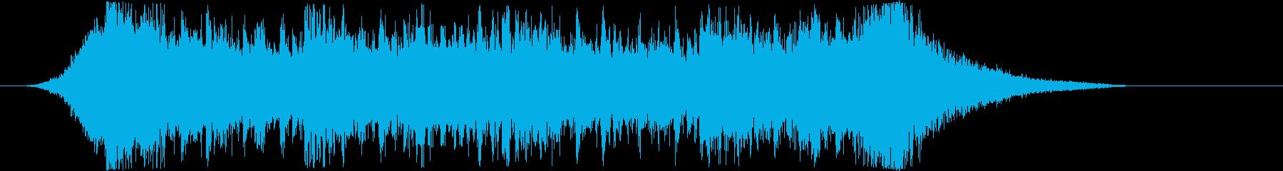 企業VPや映像21、壮大、オーケストラcの再生済みの波形