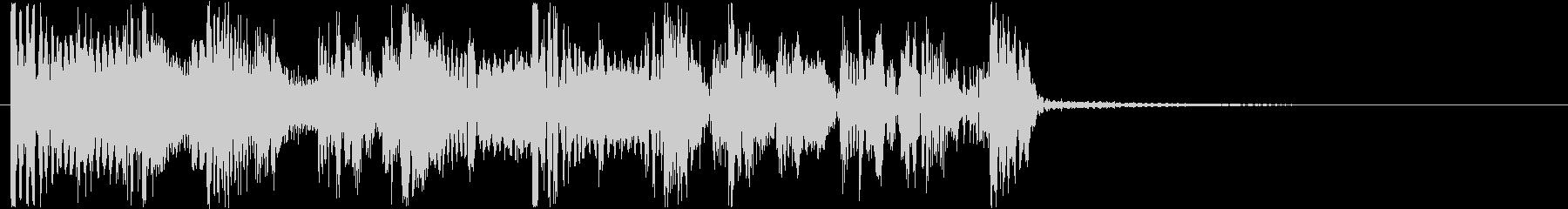サイバーなイメージのHIPHOPジングルの未再生の波形
