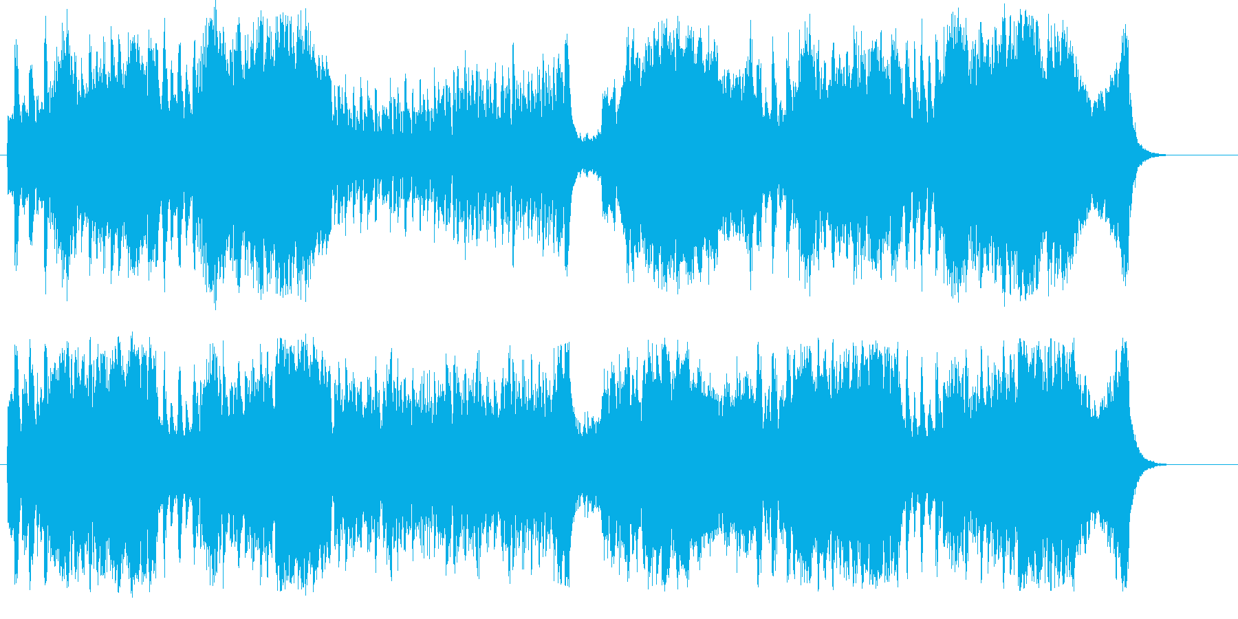 奔放なオーケストラ・サウンドの再生済みの波形