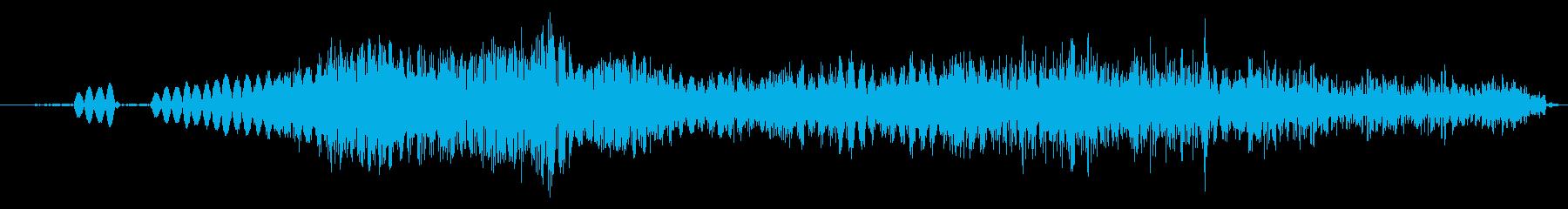 システム画面ウインドウを開ける/閉じる1の再生済みの波形