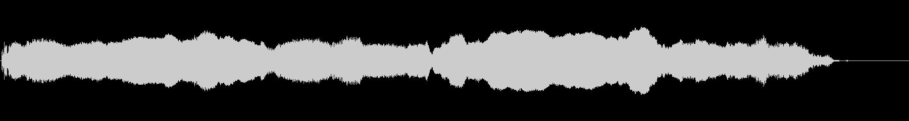 ヴァイオリン:上下にスライド、漫画...の未再生の波形
