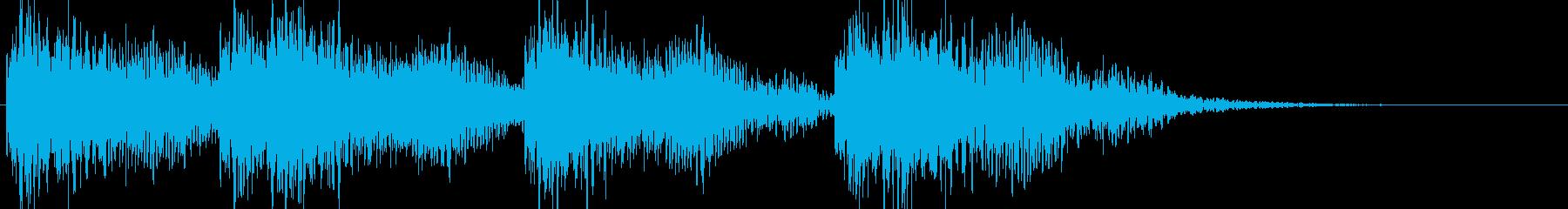 大砲の音/戦争/カノン砲/ドカン/爆発音の再生済みの波形
