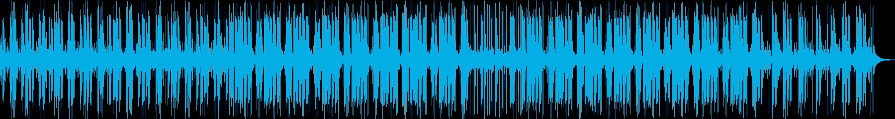 教則ビデオゆったりのんびりインストBGMの再生済みの波形