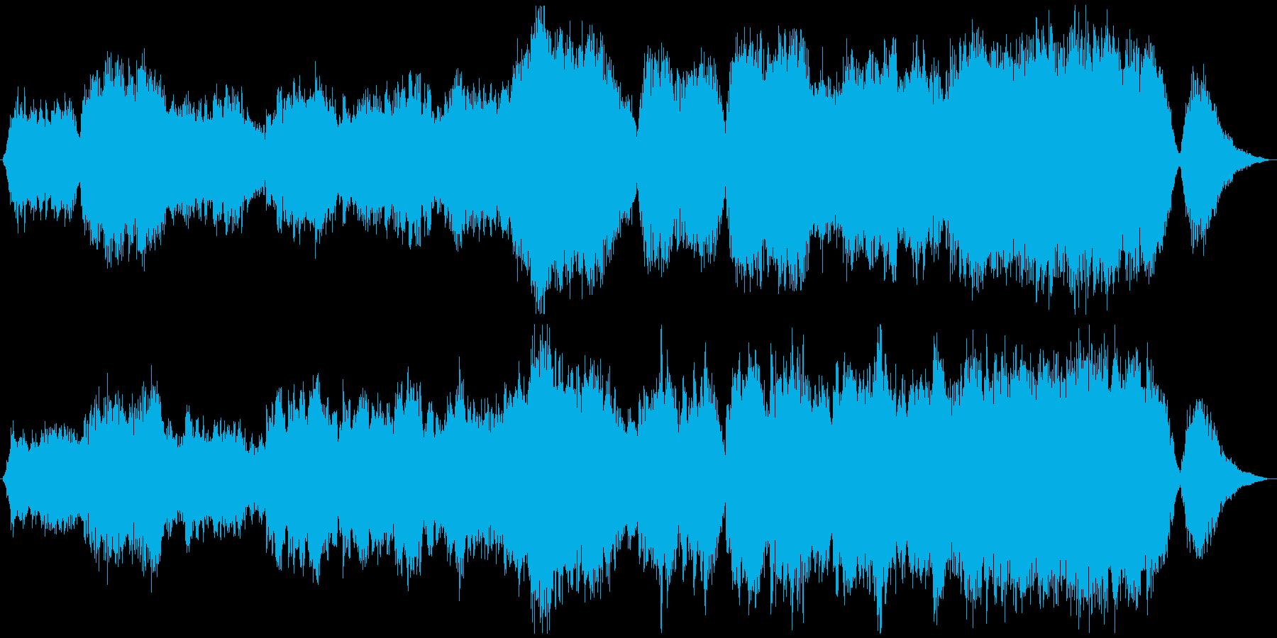 感動のクラシックバラードの再生済みの波形