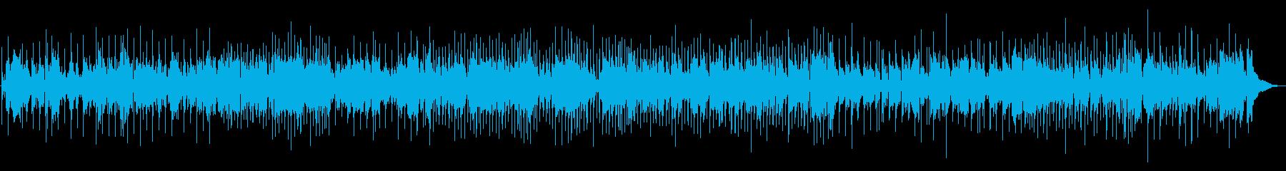 フルートの明るく楽しさ伝わるBGM。の再生済みの波形