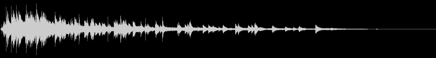 ベルチャイムリング2の未再生の波形