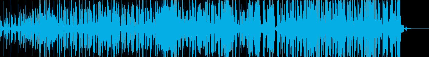 軽快で爽やかなFunkポップ風EDMの再生済みの波形