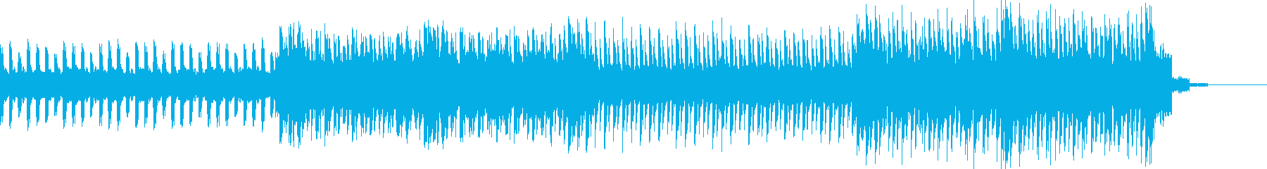 幻想的テクノシンキングタイム 60秒の再生済みの波形