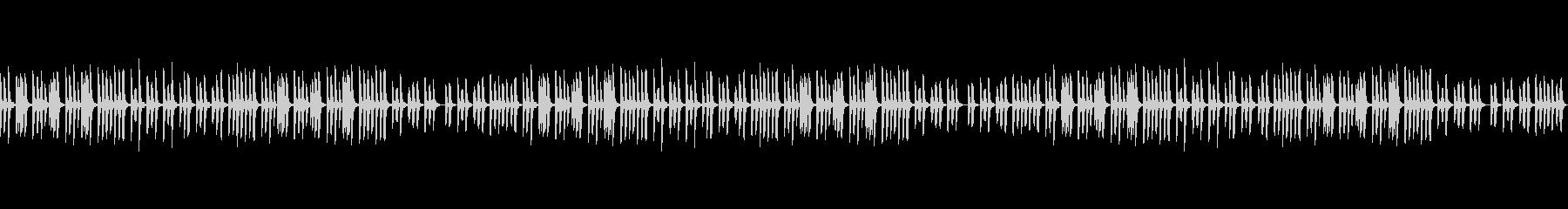 ソロピアノのこども向け知育BGMの未再生の波形