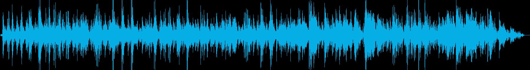 キャンドルにとける寛ぎのチルアウトジャズの再生済みの波形