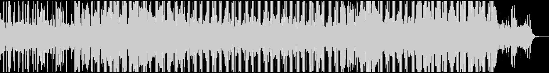 洋楽風おしゃれ爽やかヒットチャートEDMの未再生の波形