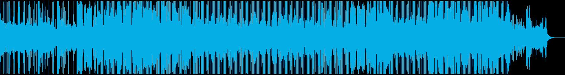 洋楽風おしゃれ爽やかヒットチャートEDMの再生済みの波形