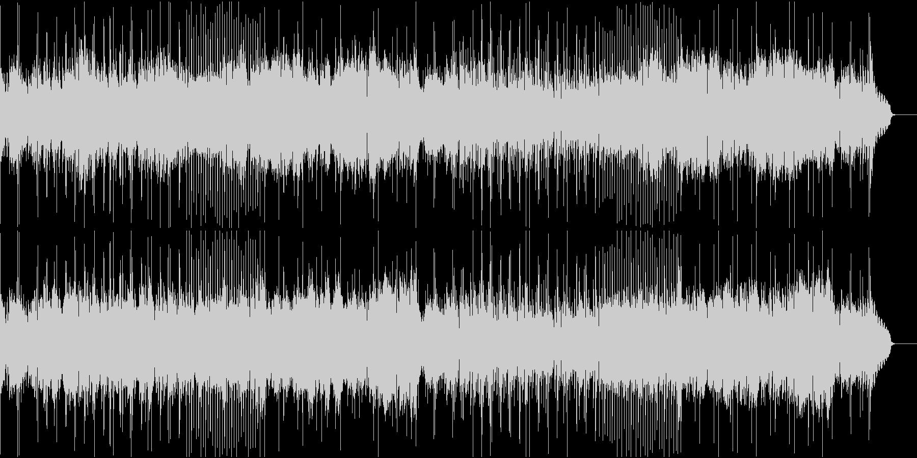 哀愁あるトランペットとsaxのJpopの未再生の波形
