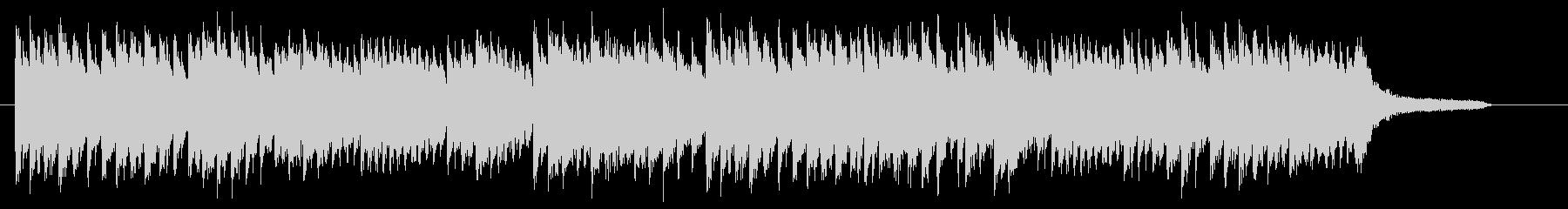 桜・卒業式 優しく切ないピアノジングルAの未再生の波形