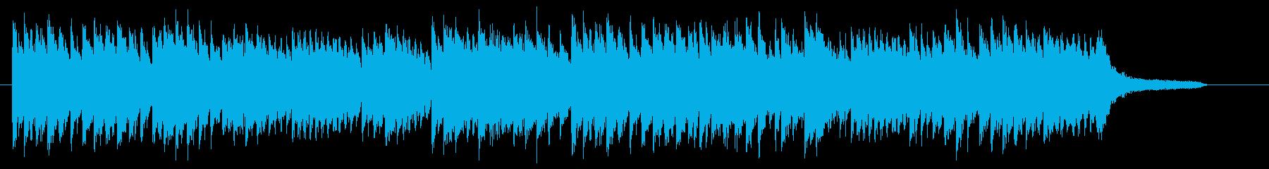桜・卒業式 優しく切ないピアノジングルAの再生済みの波形