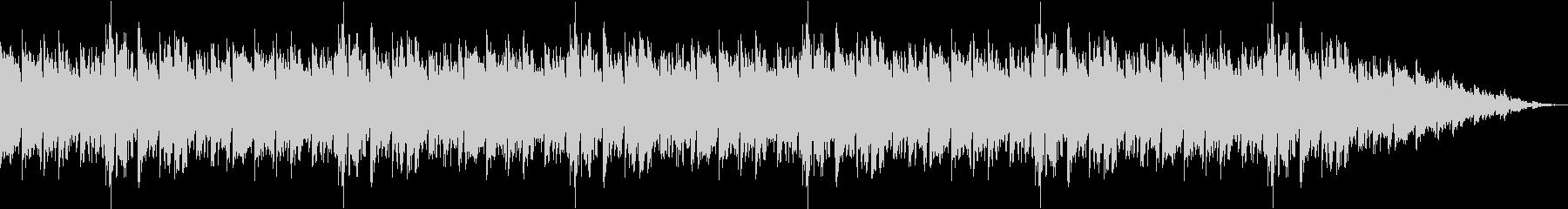 クライマックスをイメージした曲の未再生の波形