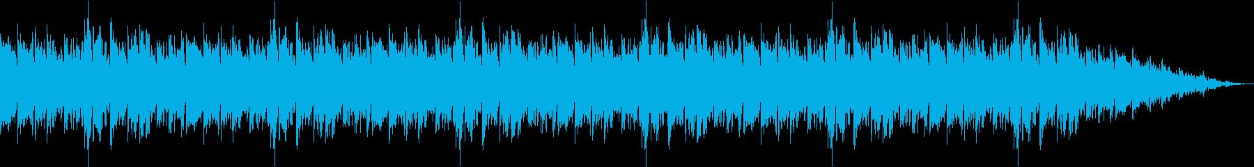 クライマックスをイメージした曲の再生済みの波形