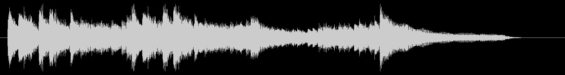 華麗で勢いのあるピアノジングル 13秒の未再生の波形