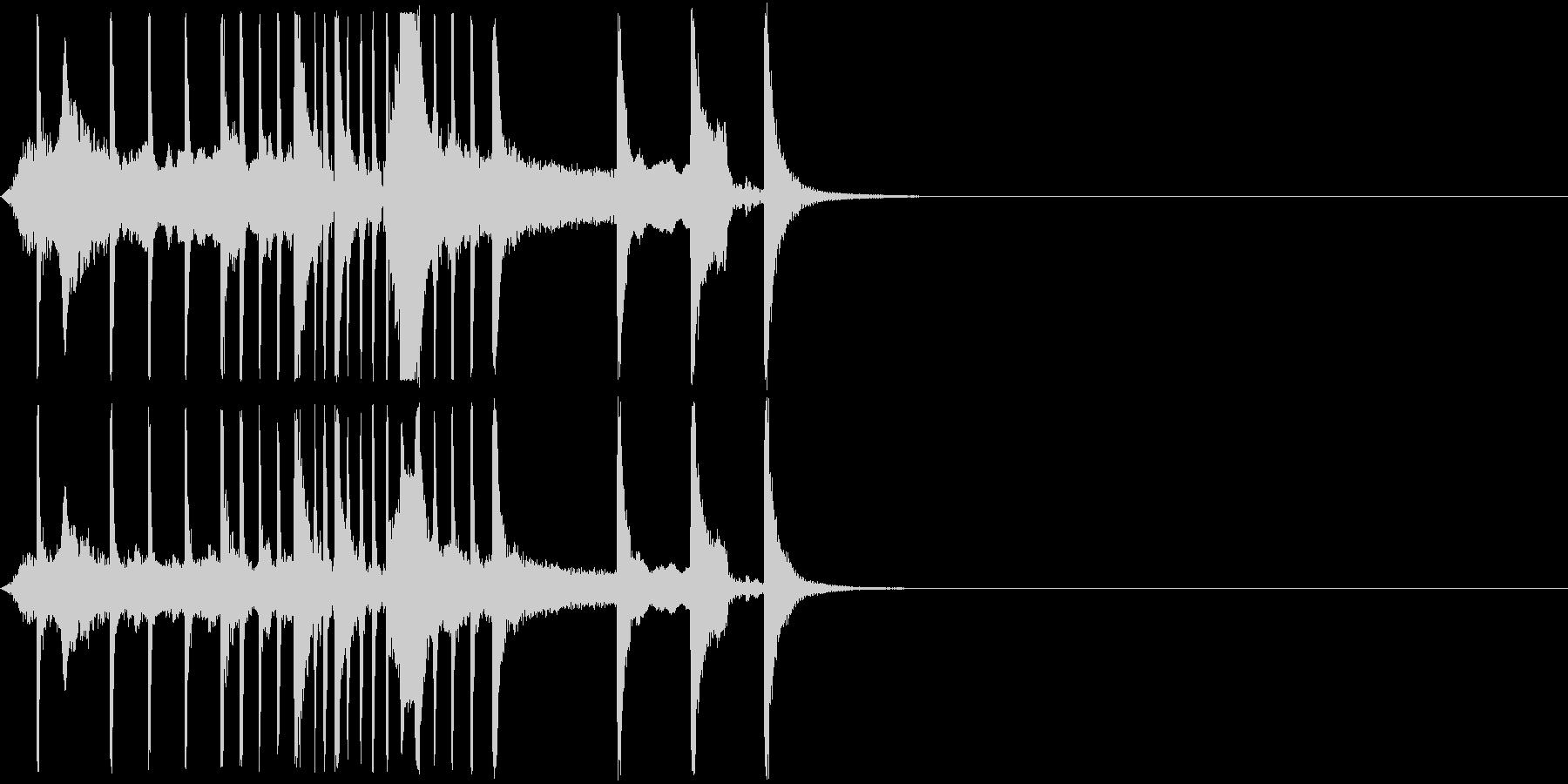 日本楽器 いよーー ちんちん japanの未再生の波形