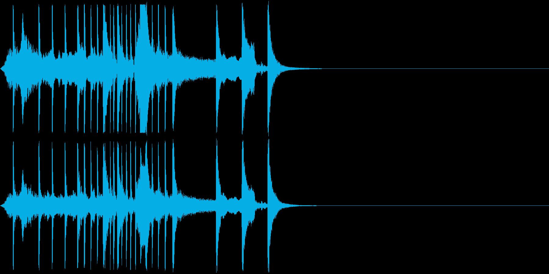 日本楽器 いよーー ちんちん japanの再生済みの波形