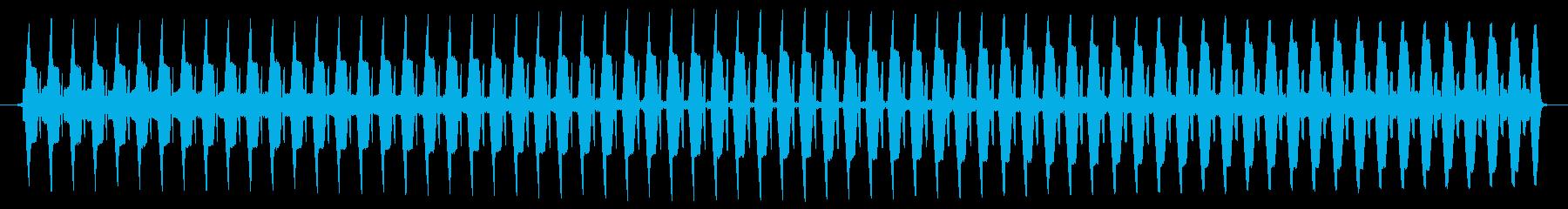 ヴー。クイズ不正解・ブザー音の再生済みの波形