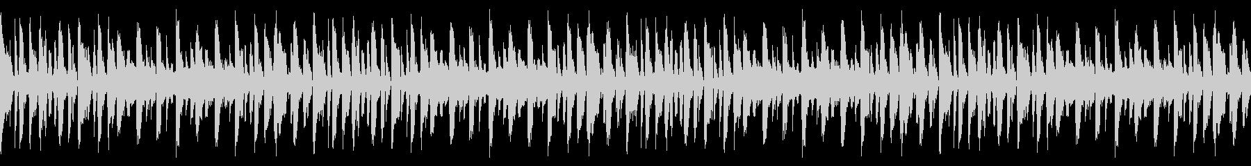 ホッピングループの未再生の波形