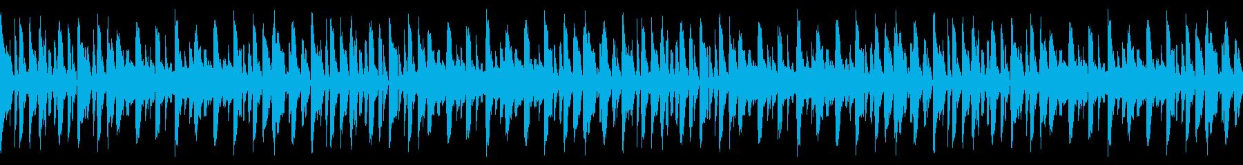 ホッピングループの再生済みの波形