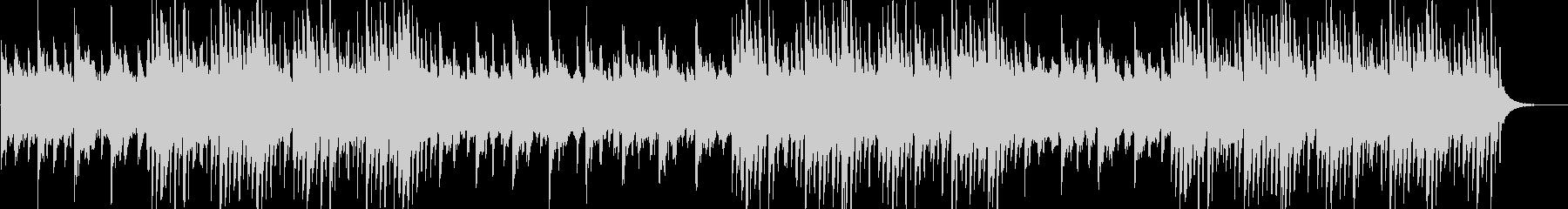幻想的なストリングス・ピアノのエレクトロの未再生の波形