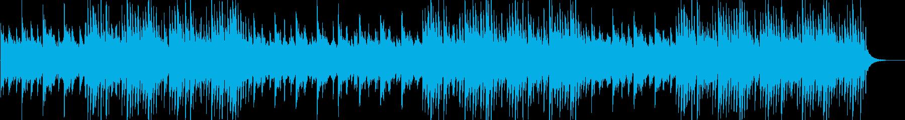 幻想的なストリングス・ピアノのエレクトロの再生済みの波形