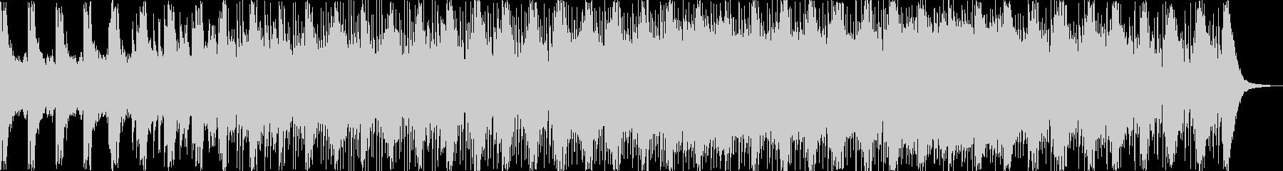 戦闘 シューティング オーケストラBGMの未再生の波形