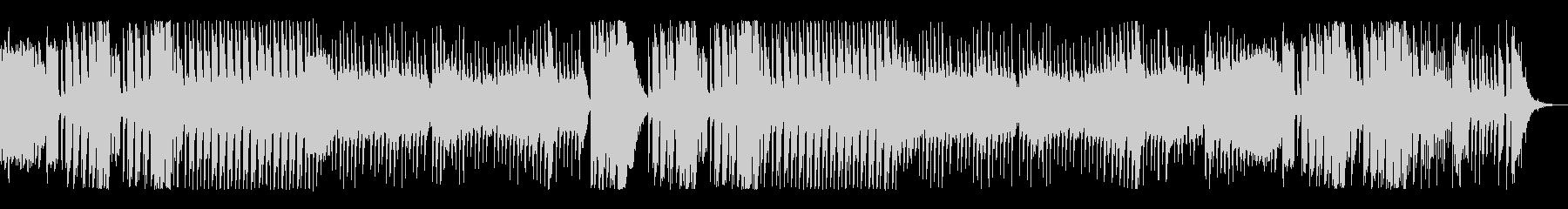 メルヘンかわいいおもちゃのピアノ曲の未再生の波形