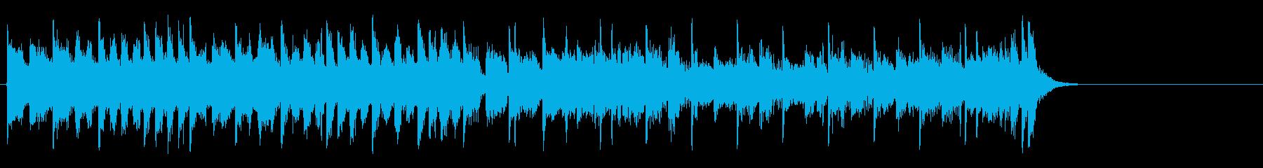 力強いファンク ポップ(サビ)の再生済みの波形