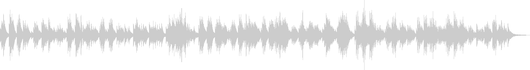 別れ(ピアノソロ・悲しい・BGM)の未再生の波形