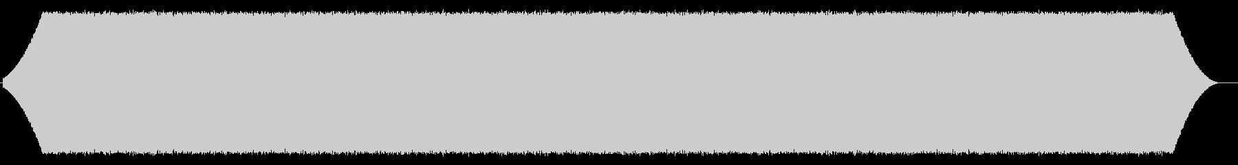 ホワイトノイズディストーション、常...の未再生の波形