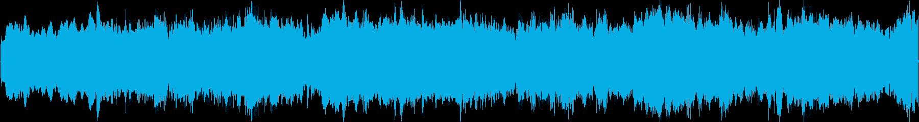 神秘的アンビエントヒーリングの再生済みの波形