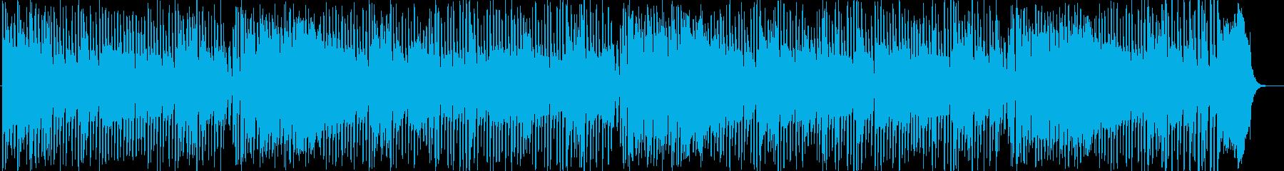 日本の名曲をクイックステップでの再生済みの波形