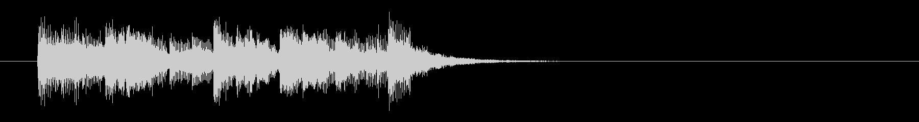 ファンキー・フュージョン系ジングルの未再生の波形