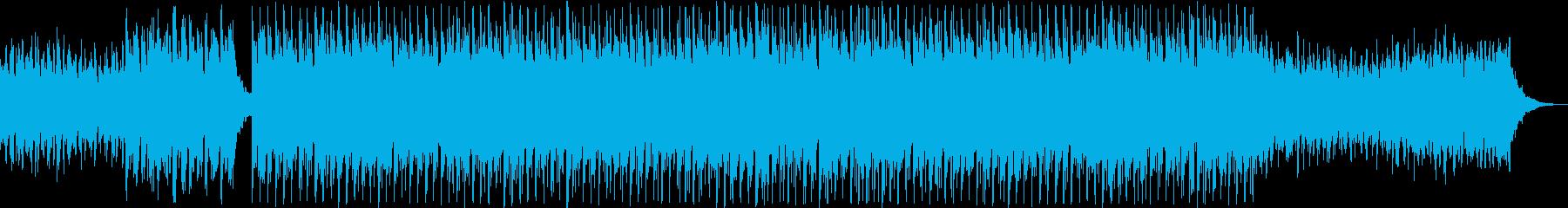 爽やかな雰囲気のエレクトロ(リミックス)の再生済みの波形