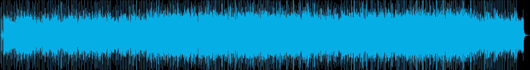 マイナーからメジャーへミディアム8ビートの再生済みの波形