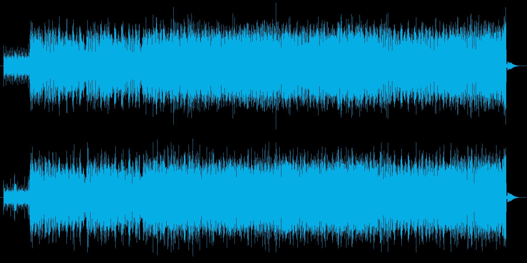 お洒落で軽快なリズムの大人イメージな楽…の再生済みの波形
