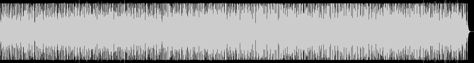情熱的 和太鼓 x トライバル2の未再生の波形