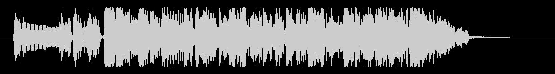 ファンキー&グルーヴィなベースのロゴの未再生の波形