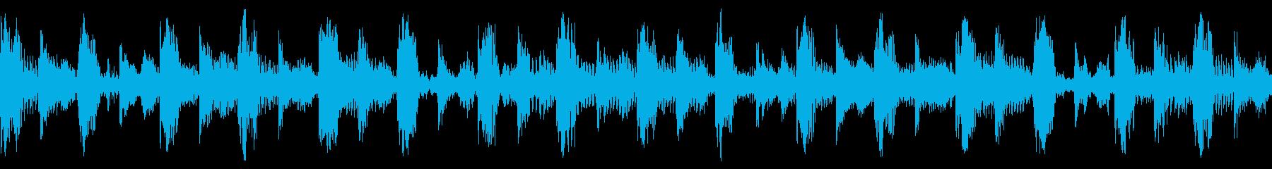 ファンキーなテクハウス/ダンストラ...の再生済みの波形