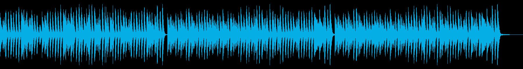 クリスマス定番曲のラグタイムアレンジの再生済みの波形